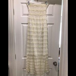 ✨5 for $30✨ D'closet cream colored lace dress